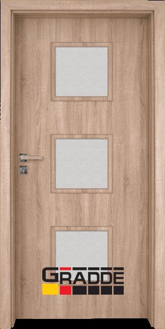 Интериорна врата Gradde Bergedorf – Дъб Вераде