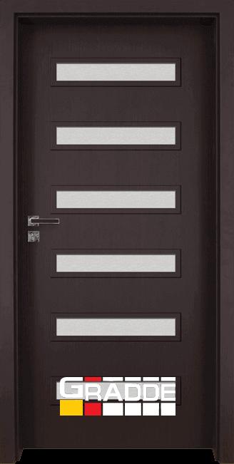 Интериорна врата Gradde Schwerin - Орех Рибейра