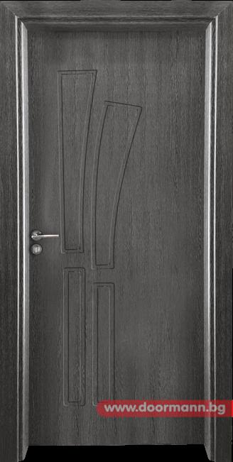 Интериорна врата Gama 205p - Сив кестен