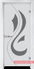 Стъклена врата модел Sand 14-10 - Бреза