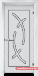 Стъклена врата модел Sand 14-9 - Бреза